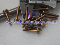 copper tungsten electrode picture