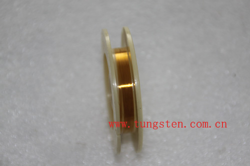 gold plated tungsten rhenium wire