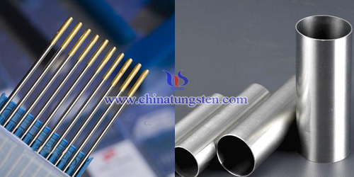 tungsten electrode application stainless steel pipe welding