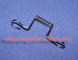 single wire tungsten heater