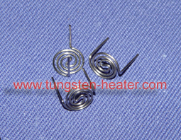 filament type tungsten heater